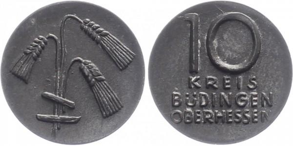 Büdingen (Oberhessen) 10 Pfennig o.D. - Notgeld