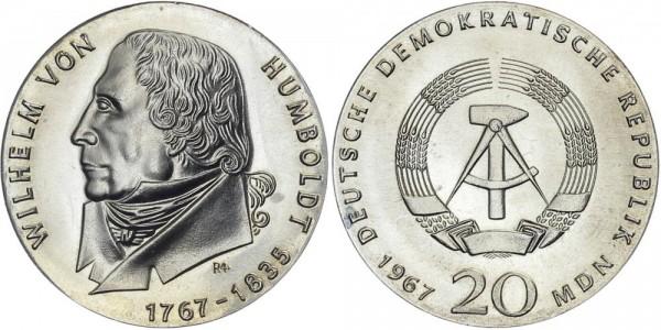 DDR 20 Mark 1967 A von Humboldt