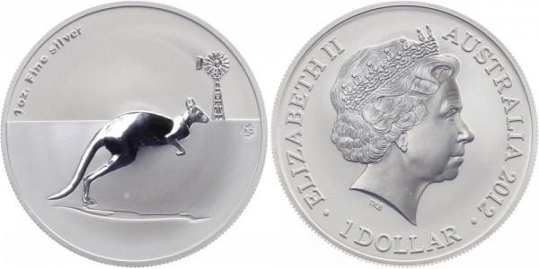 Australien 1 Dollar 2012 - Kangaroo