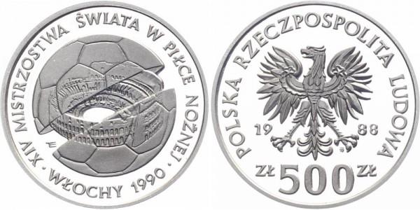 Polen 500 Zlotych 1988 - Kolosseum Rom