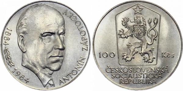 CSSR 100 Kč 1984 - Antonin Zapotocky