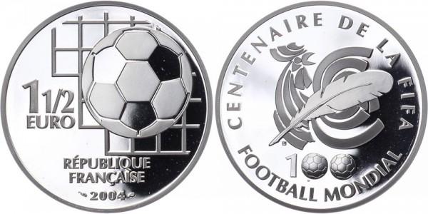 Frankreich 1 1/2 Euro 2004 - Fußball WM