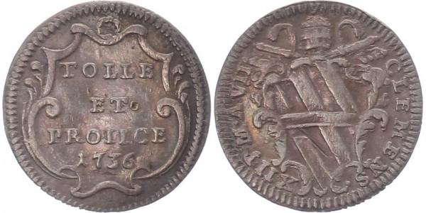 Vatikan Grosso 1736 - Clemens XII.