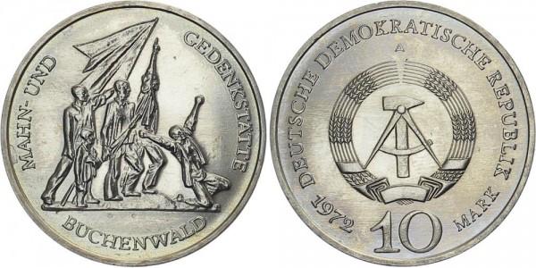 DDR 10 Mark 1972 A Buchenwald