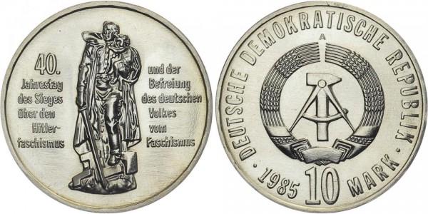 DDR 10 Mark 1985 A 40 Jahre Sieg über Faschismus