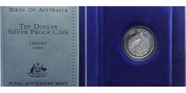 Australien 10 Dollars 1991 - Jabiru