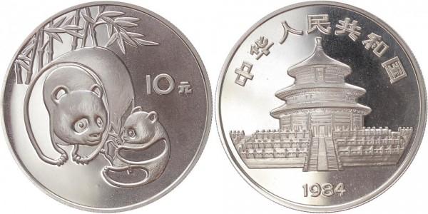 CHINA 10 Yuan 1984 - Panda