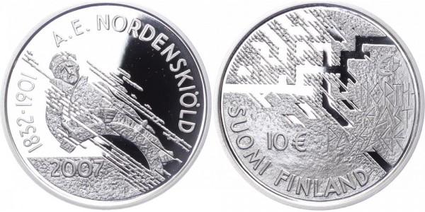 Finnland 10 Euro 2007 - Nord-Ostseepassage