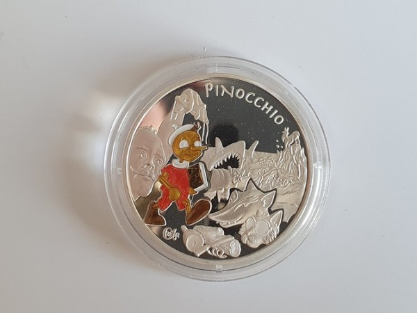 Frankreich 1 1/2 Euro 2002 Pinocchio (Characters of Fairy Tales) PP