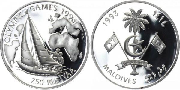 MALEDIVEN 250 Rufiyaa 1993 - Olympische Spiele