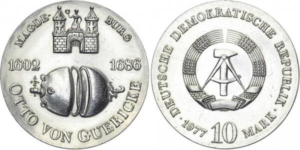DDR 10 Mark 1977 A von Guericke