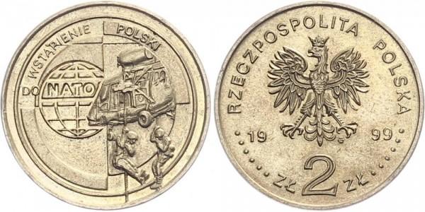 Polen 2 Złotych 1999 - NATO-Beitritt