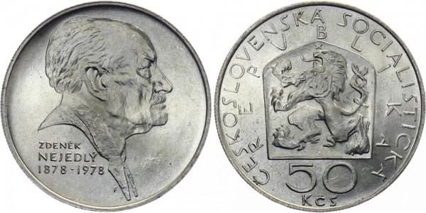 CSSR 50 Kč 1978 - Zdenek Nejedly