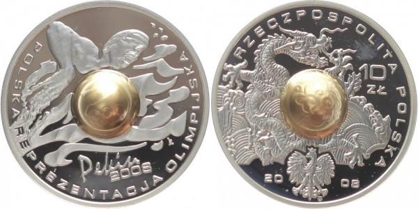 Polen 10 Zloty 2008 - Schwimmer