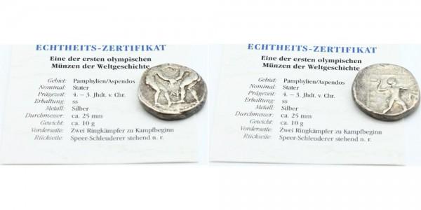 Pamphylien/Aspendos Stater 4.- 3. Jhdt. V. Chr. - Ringer