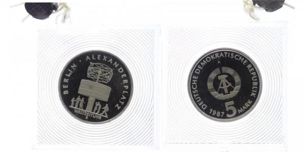 DDR 5 Mark 1987 - Alexanderplatz