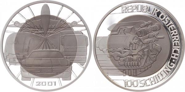 Österreich 100 Schilling 2001 - Mobilität