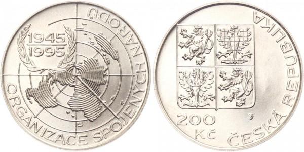 Tschechien 200 Kronen 1995 - Vereinte Nationen