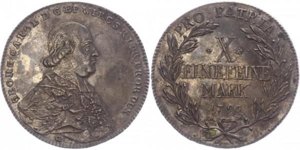Würzburg Taler 1795 - Georg Karl von Fechenbach
