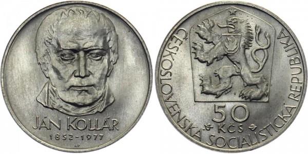 CSSR 50 Kč 1977 - Jan Kollar