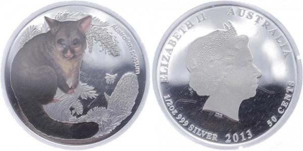 Australien 50 Cents 2013 - Australian Possum