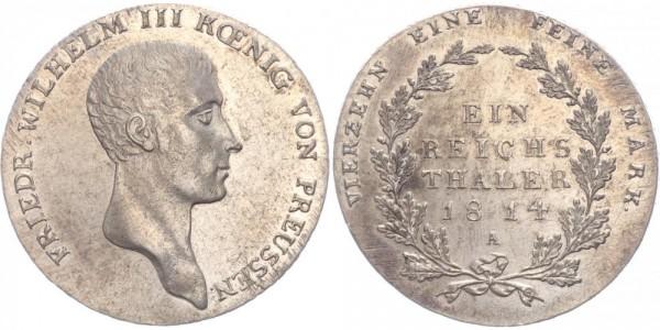 Preussen Taler 1814 A Wilhelm III. 1797-1840