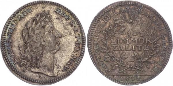 Frankreich Token 1682 - Louis XIV.