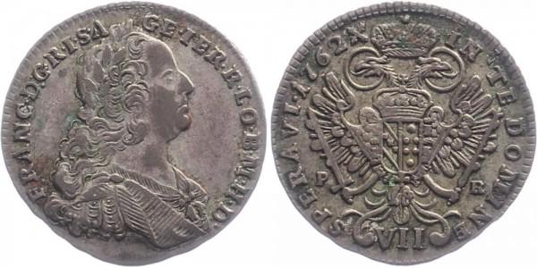 Österreich 7 Kreuzer 1762 - Kursmünze