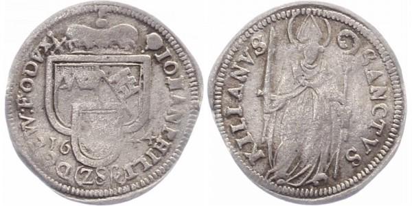 Würzburg Schilling 1644 - Johann Philipp