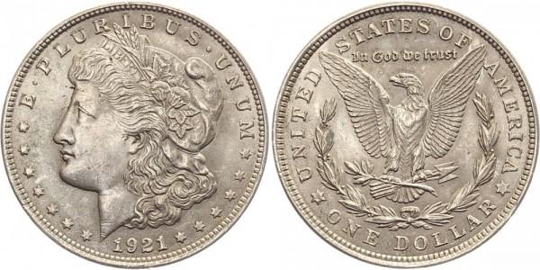 USA 1 Dollar 1921 - Morgan