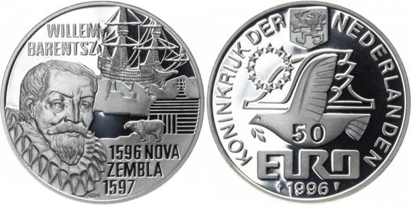 NIEDERLANDE 50 Euro 1996 - Willem Barentsz