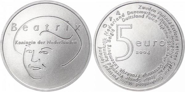 Niederlande 5 Euro 2004 - EU Erweiterung