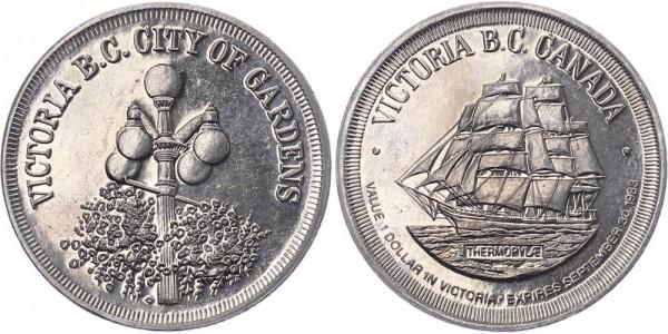 Kanada 1 Dollar 1983 - Victoria B.C. Canada