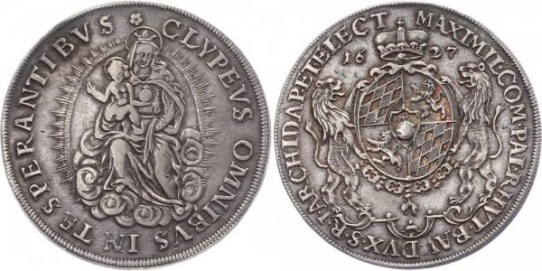 Bayern 1/2 Taler 1627 - Maximilian I.