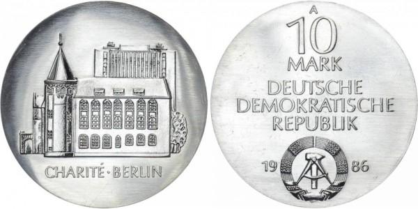 DDR 10 Mark 1986 A Charité Berlin