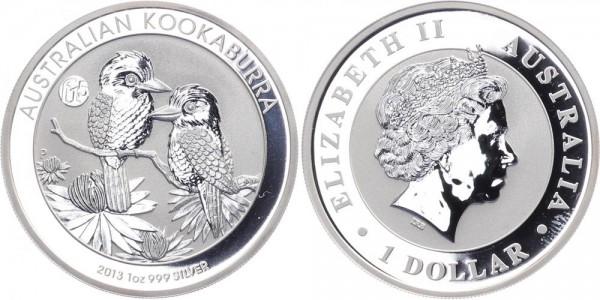 Australien 1 Dollar 2013 - Kookaburra