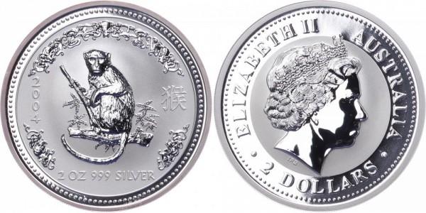 Australien 2 Dollars 2004 - Jahr des Affen