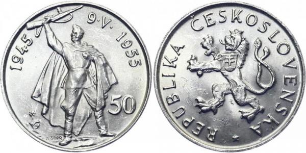 CSR 50 Kč 1955 - Befreiung Deutschlands