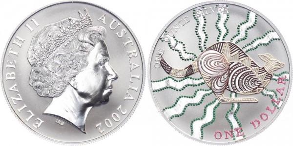 Australien 1 Dollar 2002 - Känguru