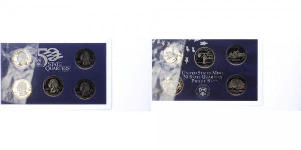 USA 25c, Quarter Dollar 1999 - Proof Set