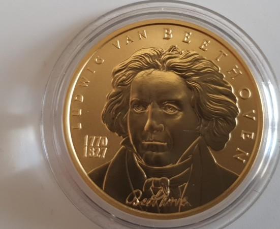 Österreich 50 Euro 2005 Ludwig van Beethoven