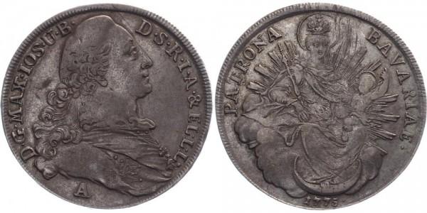 Bayern Madonnentaler 1775 - Maximilian Joseph