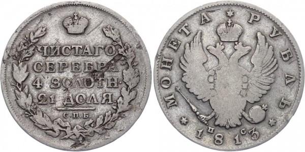 Russland 1 Rubel 1813 - Alexander I.