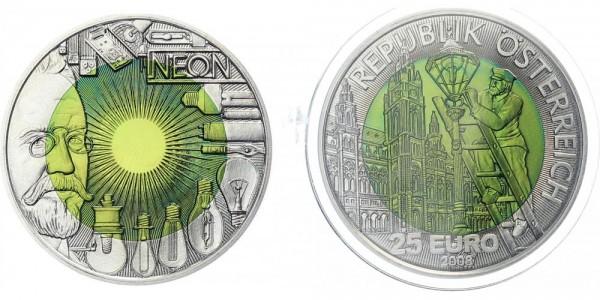 Österreich 25 EUR 2008 - Faszination Licht