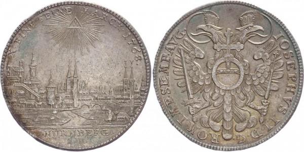 Nürnberg Taler 1768 - Stadtansicht