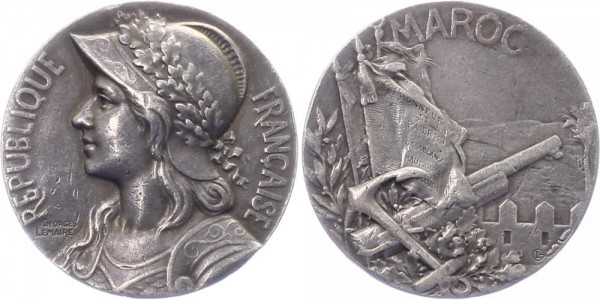 Frankreich Medaille o.J. (ca. 1909) - Ehrenmedaille