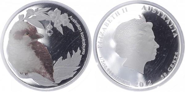 Australien 50 Cents 2012 - Kookaburra