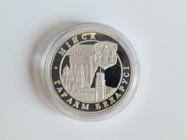 Belarus / Weißrussland 20 Rubel 1999 Stadt Minsk PP