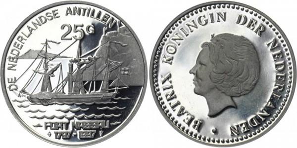 NIEDERLANDE 25 Gulden 1997 - Die niederländischen Antillen