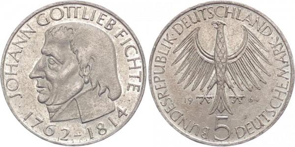 BRD 5 Mark 1964 - Fichte